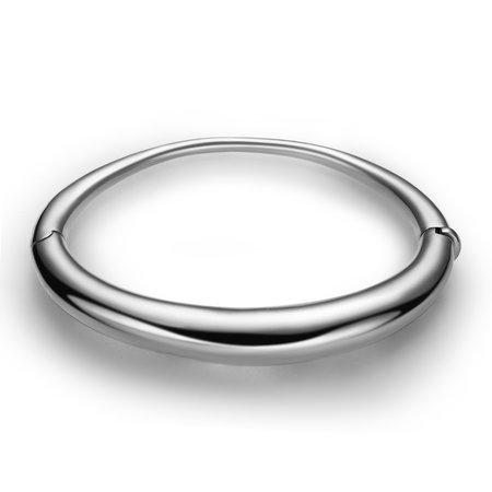 Hestia Jewels Curve Silver Bracelet - Sterling Silver
