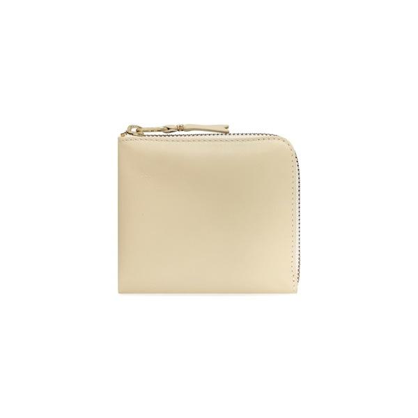 Comme Des Garçons Half Zip Wallet - Classic Off White