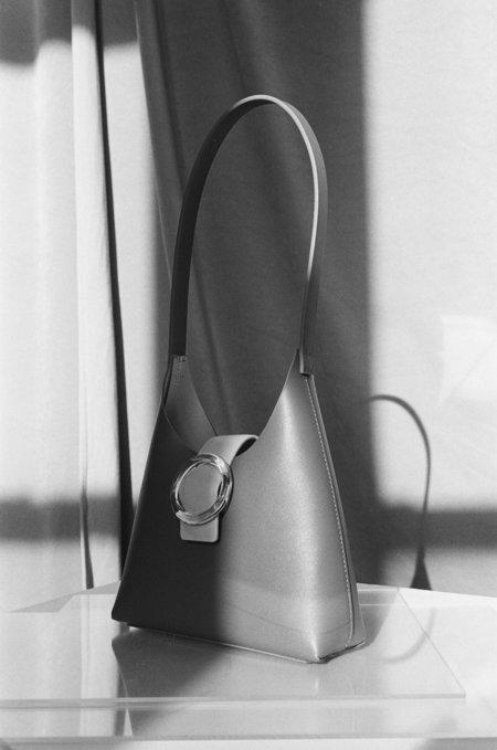IMAGO-A Nº44 Lucite Buckle Mini - Saddle/Blush