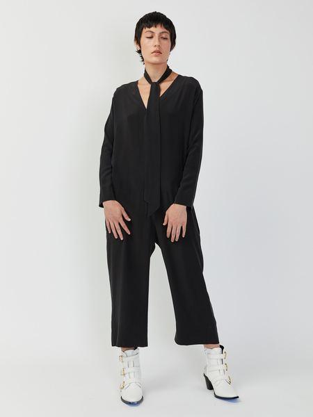 Combine de Filles Le Coco Jumpsuit - Black