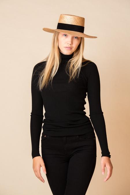 Janessa Leone Jodi Hat - Natural