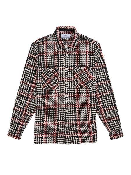 Wax London Whiting Shirt - Black Beatnik