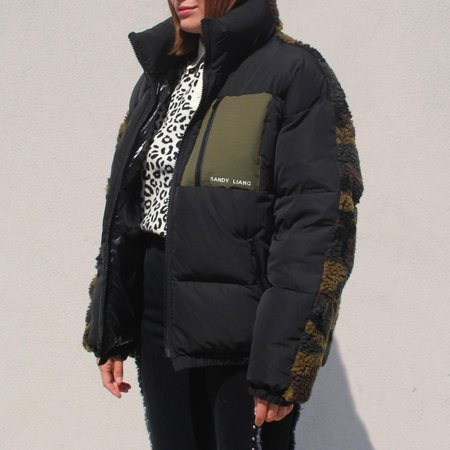 Unisex Sandy Liang Catan Puffer - Black