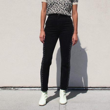 Sandy Liang Dazzler Jeans - Black