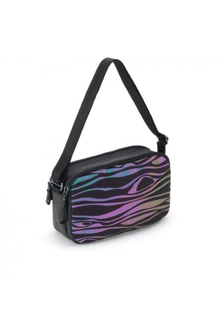 Julian Zigerli x QWSTION Wood Hip Bag - Reflective Rainbow