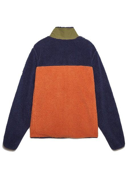 Penfield Mattawa Fleece - Tan/Orange/Navy