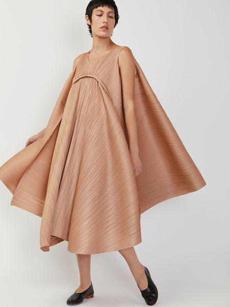 Issey Miyake Petal Dress - Beige