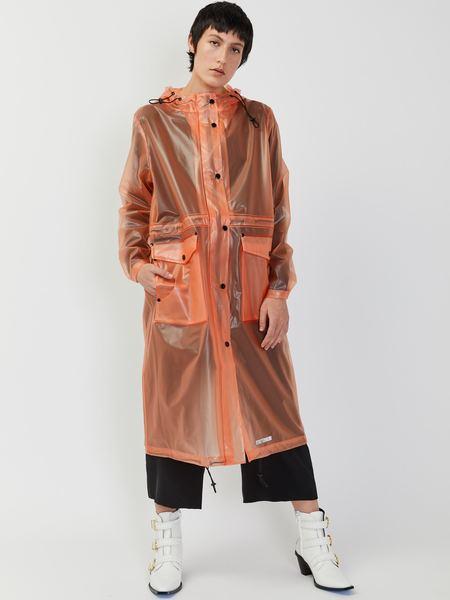 Unisex Stutterheim Ranarp Raincoat - Clear Flame