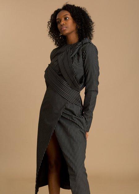 Fruché Idia Dress - Stripe