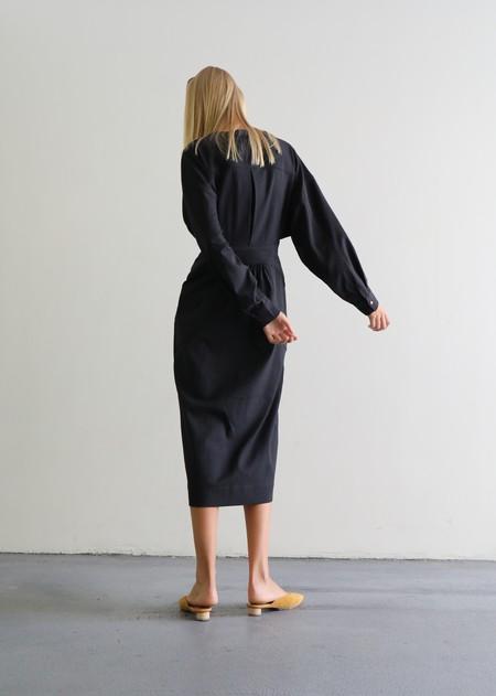 REJINA PYO BLAKE DRESS - CHARCOAL