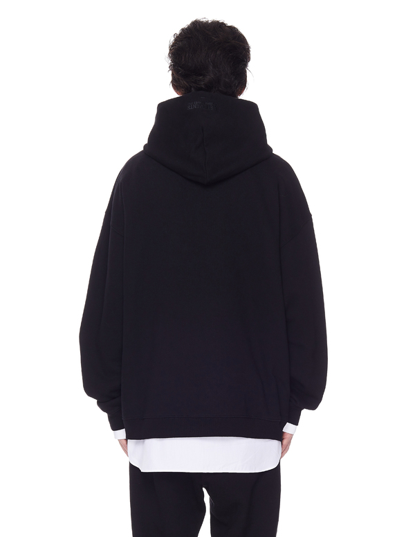 Vetements Cotton Birthday Hoodie Black