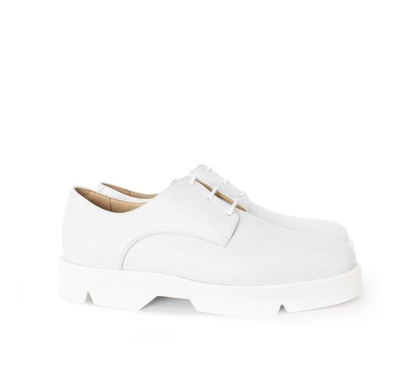 Unisex Sydney Brown Derby - White