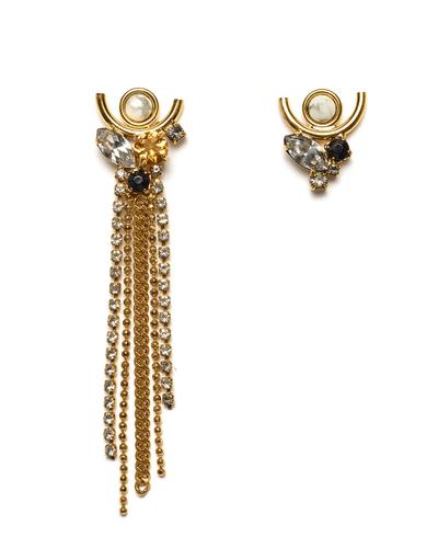 Lizzie Fortunato Te Amo Earrings