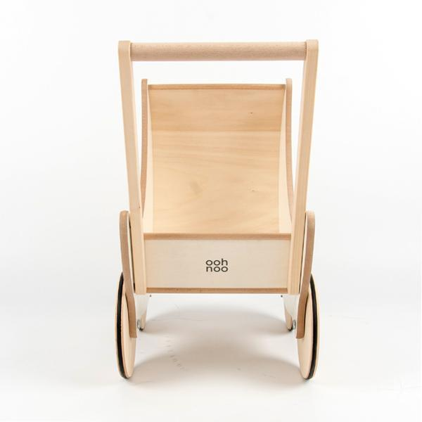 kids OOH NOO Wooden Toy Pram