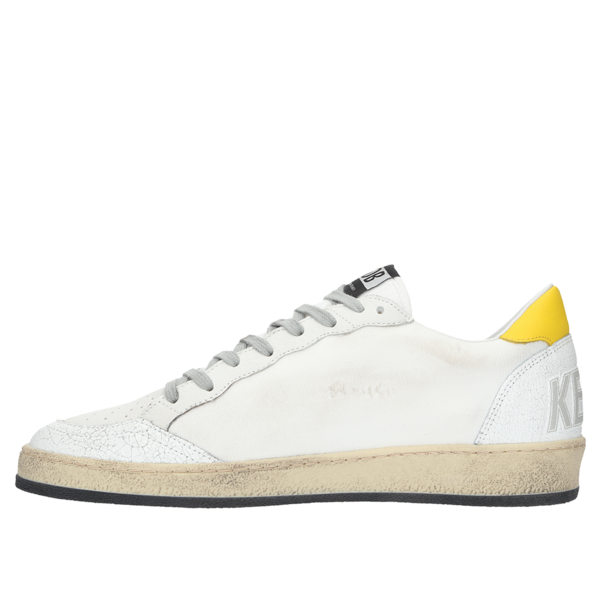GOLDEN GOOSE DELUXE BRAND Sneakers Ball Star - White Signature/Sun