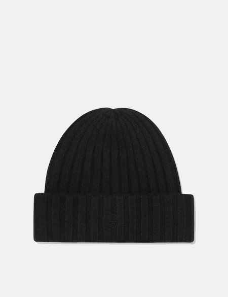 Stetson Surth Cashmere Beanie Hat - Black