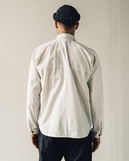 Jan-Jan Van Essche Light Buff Cotton Shirt #69 - Natural