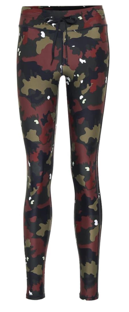 The Upside Jungle Yoga Pant - Red Camo