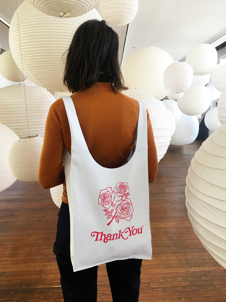 AW by Andrea Wong ROSES GRATITUDE BAG - STONE LEATHER