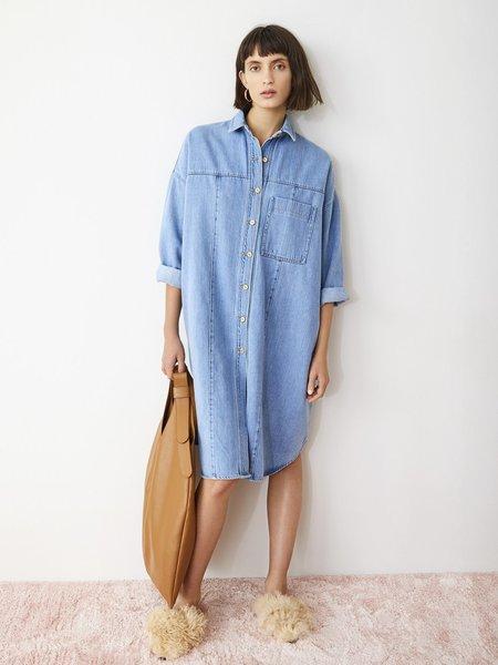 AERON Phoenix Shirt Dress - Denim