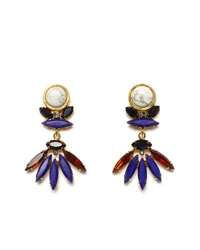 Lizzie Fortunato Casa Azul Earrings