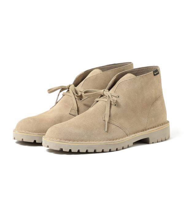 choose authentic look good shoes sale hot sales Beams Plus x Clarks Desert Rock GTX Boots - Sand on Garmentory