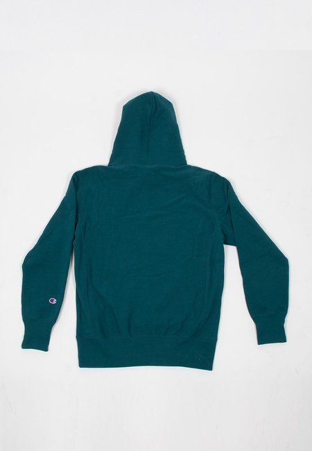 Champion EU Reverse Weave Small Script Hoodie - jeweled