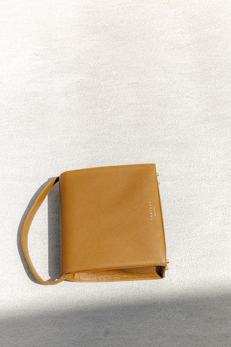 TSATSAS MALVA 5 BAG - OLIVE BROWN/GOLD