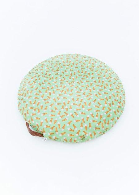Ohhh My Dog Donut Disturb Bed - Icecream Green