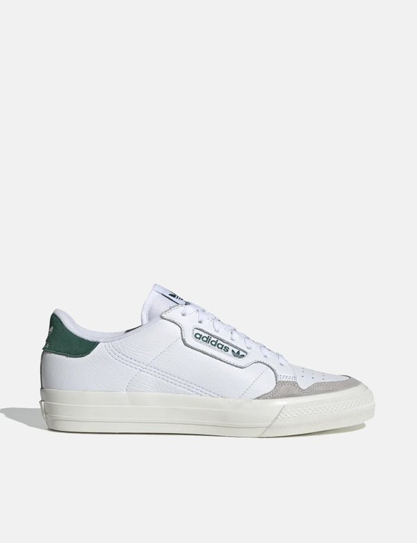adidas Continental Vulc Shoes (EF3534) Cloud WhiteCollegiate Green