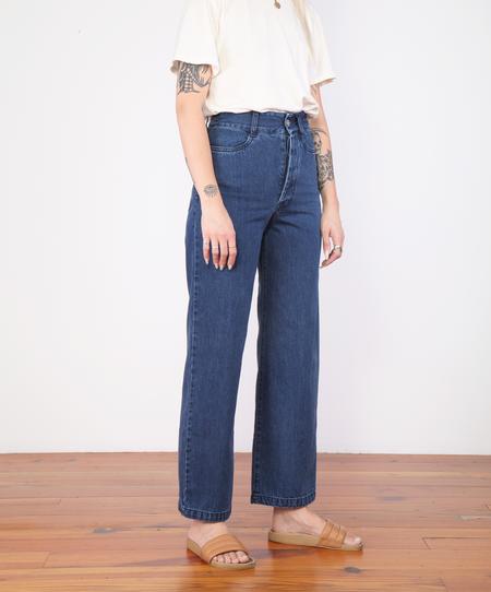 Kowtow Linear Jeans - Mid Blue