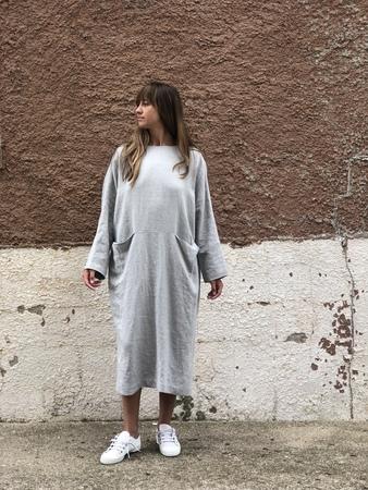 Lauren Manoogian Pocket dress - Gray