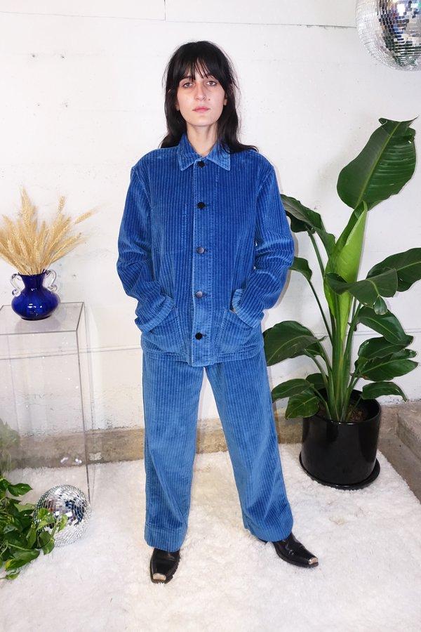 Caron callahan krasner jacket - indigo corduroy