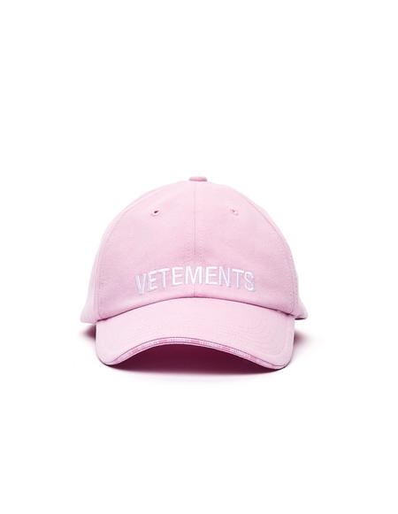 Vetements Logo Cap - Pink