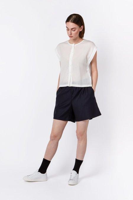Elsien Gringhuis Fair Wool Shorts - Dark Blue