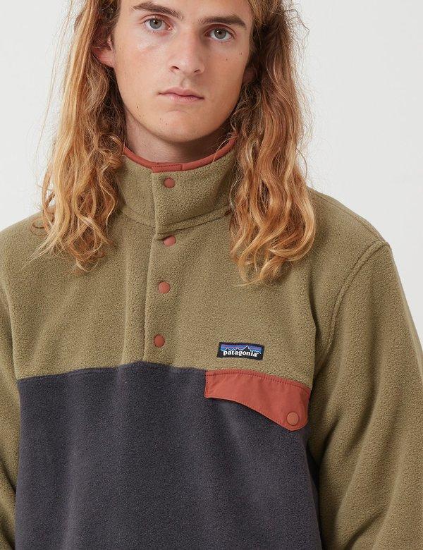 Patagonia Synchilla® Snap T® Pullover Men sage khaki