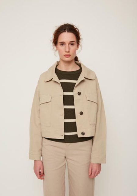 Rita Row Crop Jacket