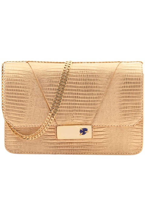 KHBEIS Lia gold shoulder bag