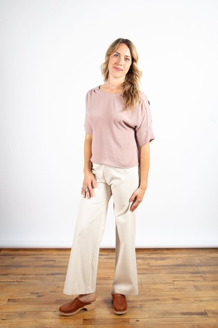 Dagg & Stacey Cassady Wide Leg - Natural