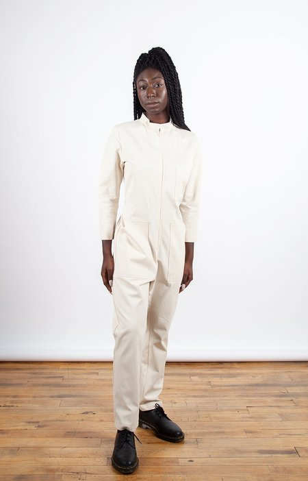 Dagg & Stacey Finch Boiler Suit - Natural