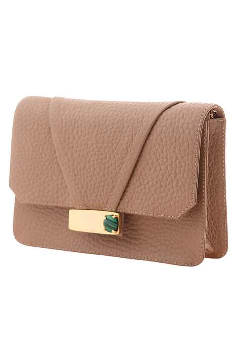 KHBEIS Lia Sandstone Shoulder Bag