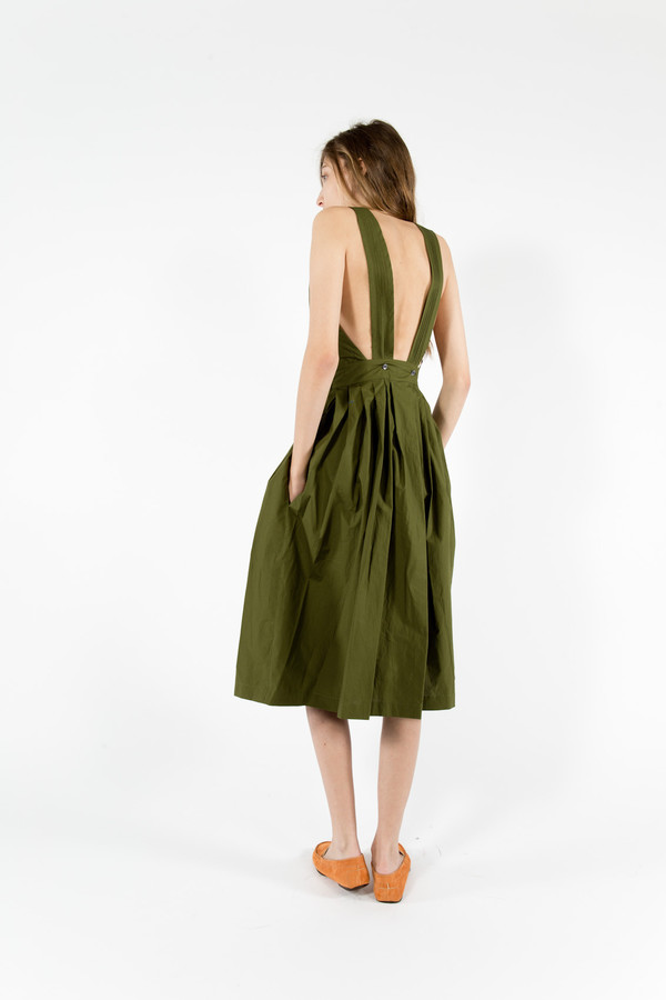Maison Kitsune Iris Long Dress Garmentory