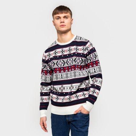 RVLT josef knitted sweater - navy