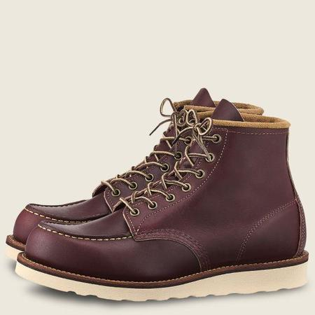 Red Wing Shoes #08856 Classic Moc 6-INCH MESA LEATHER BOOT - OXBLOOD