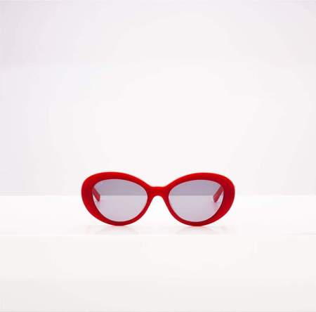Flamingo Eyewear Beverly Road Sunglasses - Matte Red