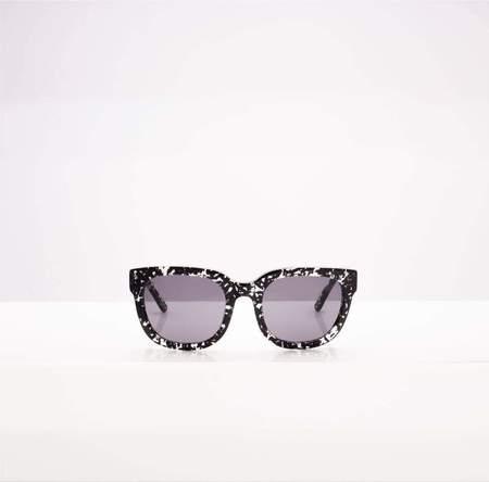 Flamingo Eyewear Malibu Sunglasses - Black Chips