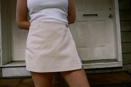 Horizons Vintage skort - white