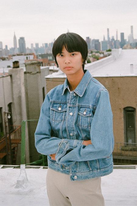 Vintage Gap Denim Jacket - blue