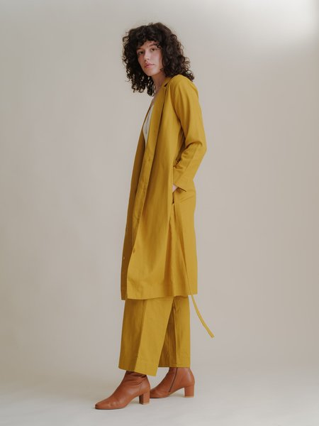 ALI GOLDEN NOTCH DUSTER - SUNFLOWER
