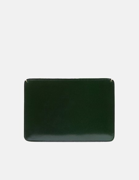Il Bussetto Small Card Holder - Forest Green